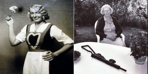 """TØFF DAME:  Astrid Brinck var etter krigen """"Mor Bæreia"""". Da Astrid endelig fikk sin rettferdighet og politimennene som pågrep henne og ektemannen ble dømt, reiste alle i salen seg."""
