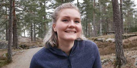 LA OM: Anne-Marte Bjerke (24) fra Toten endret livsstilen totalt.