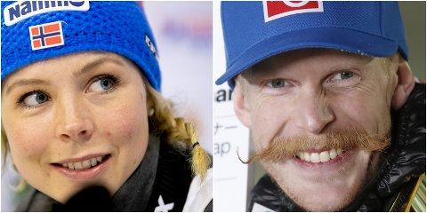Flett deg som Maren Lundby og bart deg som Robert Johansson, oppfordrer olympiaparken - eller kjør kanskje en kombinasjon?