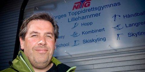 Daglig leder og sportssjef ved Norsk Toppidrettsgymnas (NTG) i Lillehammer, Trond Hårberg.