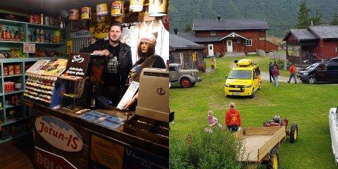 Jon Arild Jøingsli mener det er en ære å kunne representere Skjåk når NRK besøkte bygda og garden hans da de var på vegen med «Sommerbilen»