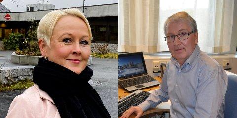 BEKYMRET: Marthe Bergli, kommuneoverlege i Jevnaker og Are Løken, kommuneoverlege i Gran opplever smittesporingen etter den døde mannen i 60-årene som krevende.