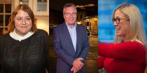 MEST POPULÆRE: Ingen har blitt vist mer personlig tillit av velgerne i Halden enn Rødts Linn Elisabeth Rokke Andersen, Høyres Thor Edquist og Aps Linn Laupsa.