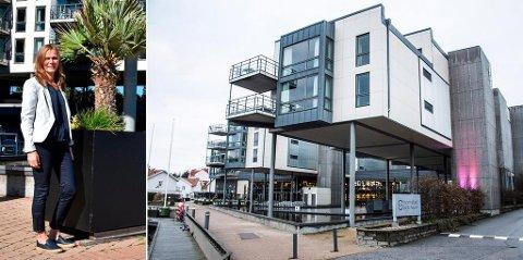 Mellom 200 og 250 nye hotellrom og et nytt parkeringshus planlegges på Strömstad spa, forteller Linda Einarsrud