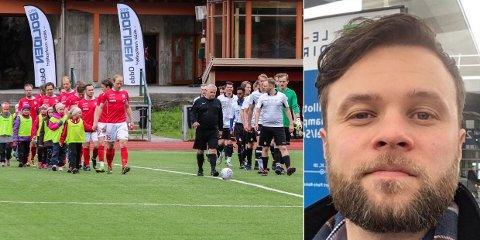 SAMMEN I HARDANGER: Odda og Tyssedal møttes til lokalderby i 2019. Nå kjemper hovedtrener Thomas Skjold Olsen og Odda/Tyssedal sammen for Hardanger sin ære i 6. divisjon.