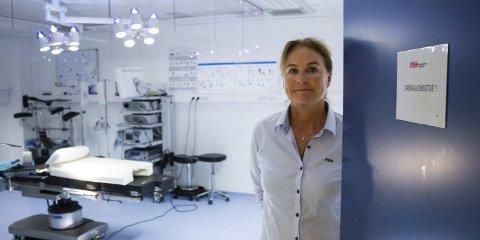 FÅR HJELP: Privatsykehuset Haugesund AS er blant bedriftene som får krisestøtte. Her daglig leder Turid Staveland Nygaard.