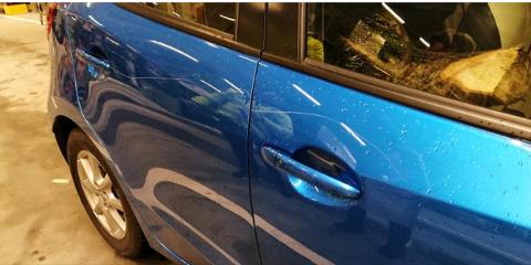 HÆRVERK: Denne bilen ble ripet opp tidligere i uken og det skal være flere tilfeller på Hasseløy i det siste.