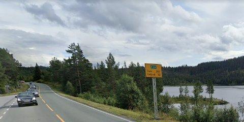 E 134: Strekningen fra Høydalsmo og østover mot kirken er cirka 1,6 kilometer lang. Den skal utbedres.
