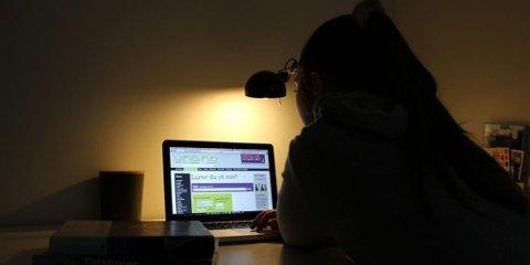 SPØRSMÅL: Hva spør ungdom om når de får være anonyme? Det har SINTEF kartlagt. Foto: Christina Benjaminsen (SINTEF)