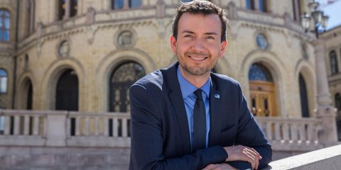 Stortingsrepresentant Kent Gudmundsen (Høyre) fra Harstad.