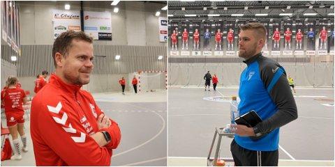 JÆRSK BYTTE: Gøran Håland (t.v.) går ut. Inn kommer Joar Gjerde.