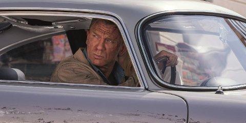BOND: Danien Craig i «No Time to Die». Premieren er utsatt til november.
