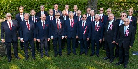 MANNSKOR: Jeløykameratene feirer 85 år og inviterer til konsert i samarbeid med Moss Sangforening.