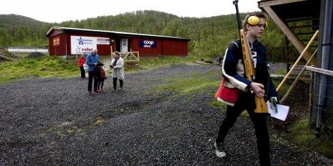STEVNEBANE: Tromsø skytterlag har i dag en 100-metersbane i Kjoselvdalen. Men de trenger en 200-metersbane i tillegg for å kunne arrangere stevner.
