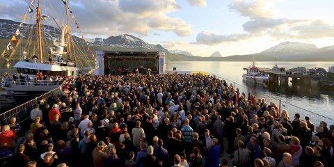 SUKSESS: Konsertene på Millionfisken har alltid slått an hos publikum. Her er et arkivbilde fra en tidligere konsert.
