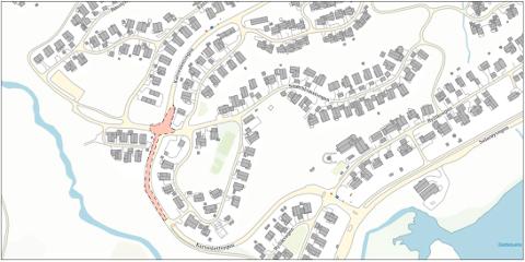ASFALT: Hvem liker ikke lukten av helt ny asfalt? Beboerne på Kvaløya vil hvert fall få den lukten.