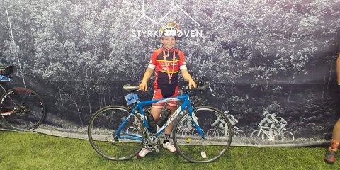 Askil Seim Thorstensen fullførte i helga Styrkeprøven fra Lillehammer til Oslo - 192 kilometer.