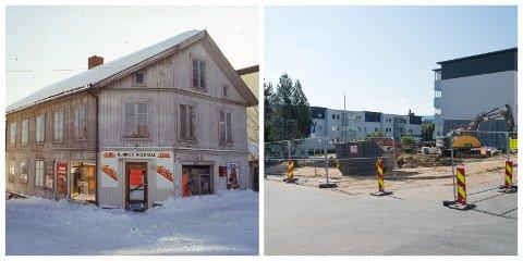 BORTE FOR GODT: Skolegata 8 eller Østbygården ble revet forrige uke. Verneplanen som ble vedtatt igangsatt ble gjort da politikerne i Gjøvik sa ja til riving av trehusbebyggelsen. Verneplanen kommer først i 2022.