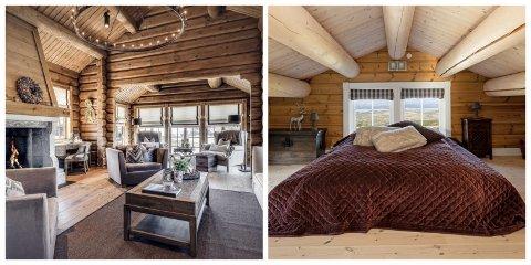 HØY STANDARD: Hyttene som nylig ble solgt for syv millioner kroner i Vaset, kan beskrives som luksushytter.