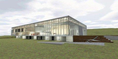 STORSATSING: Den nye svømmehallen på langhus blir et fellesprosjekt mellom Ski og Oppegård kommune, og har en ramme på 450 millioner kroner.