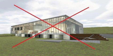 IKKE SLIK: Slik så politikerne i Ski kommune for seg den nye svømmehallen på Langhus. Det ble med drømmen.