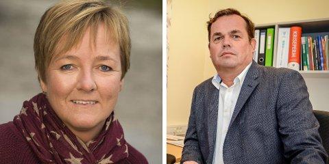 Lisbeth Olsrød, daglig leder i Salbutangen FUS barnehage, og Terje Berglie, rektor ved Tjodalyng skole, betegner situasjonen de står i som henholdsvis utfordrende og krevende.