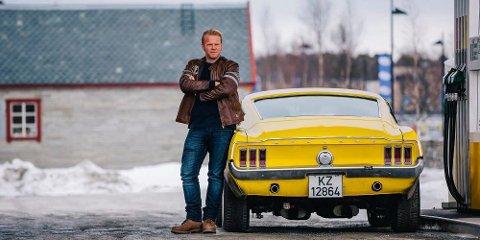SUPERSTJERNE: Anders Baasmo Christiansen spiller både i «Kongens nei» og i «Børning 2». Han er nå superstjerne på kino i Innlandet. (Foto: Eirik Evjen Photography)