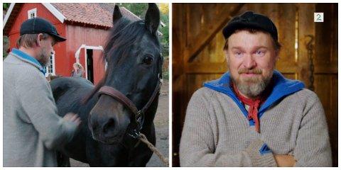 Halvor Sveen har hatt utallige timer sammen med hesten «Maja» inne på Farmen-gården. I onsdagens episode måtte han ta farvel.