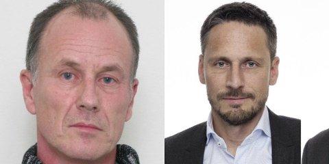 SAVNET: Vidar Gundersen (til venstre) og Stig Evje har vært savnet siden henholdsvis 23. desember i fjor og 3. mai i år. (Foto: Politiet)