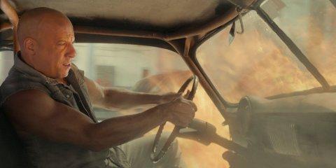 HADDE PUBLIKUMSTEKKE: Vin Diesel hadde igjen publikumstekke med den fartsfylte «Fast & Furious 8».  (Foto: Filmweb)