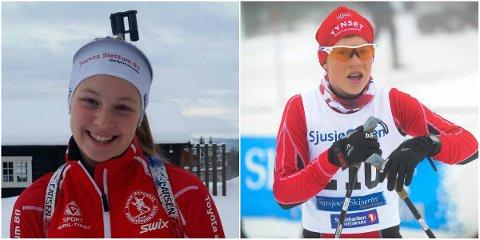 PRISVINNERE: Gina Nygård og Gaute Kvittum Nytrøen.