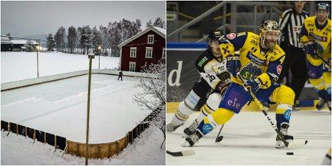 STORFINT BESØK: Houm Hockeyrink får storfint besøk av Patrick Thoresen & co. den 25. januar.