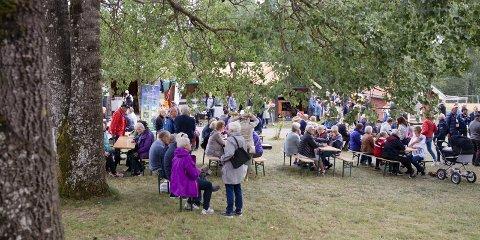 GODT BESØKT: Nærmere 14.000 gjester besøkte Markens Grøde i løpet av helgen.