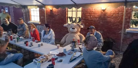 EGEN FESTIVAL: Jan Rørbakk arrangerte sin egen minifestival for tidligere rusmisbrukere på Skjekle gård i helgen.