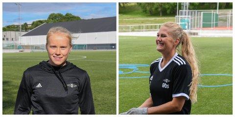 Årets unge spiller fra 1. divisjon i fjor, Julie Blakstad og landslagsspiller Lisa-Marie Karlseng Utland styrker RBK Kvinner.