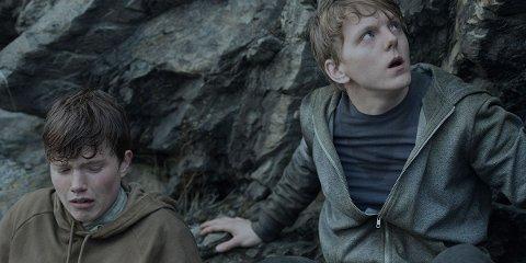 Jonas Strand Gravli og Isak Bakli Aglen spiller Viljar Hanssen og hans bror Torje i Netflix-filmen 22 July.