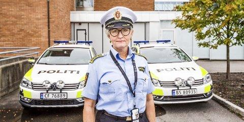 Bekymret: Politiinspektør Mona E. Hertzenberg legger ikke skjul på alvoret i bemanningssituasjonen blant politijuristene i Øst politidistrikt. Arkivfot0