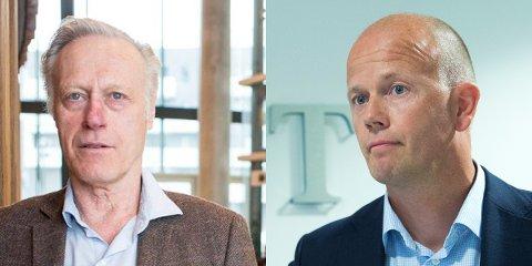 SKAL HA VÆRT DER: Både Tom Hagen og hans bistandsadvokat, Svein Holden, skal ha vært i møtet med den eks-kriminelle.