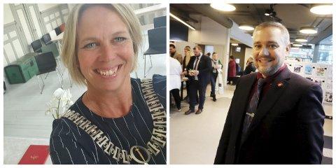 HAR TRUA: Ordfører Elin Weggesrud (Ap) og kommunestyrerepresentant Jan Fredrik Vogt (FrP) har begge drevet lobbyarbeid opp mot stortingspolitikere i sykehussaken. Nå ser det ut til at jobben de har gjort har lyktes.