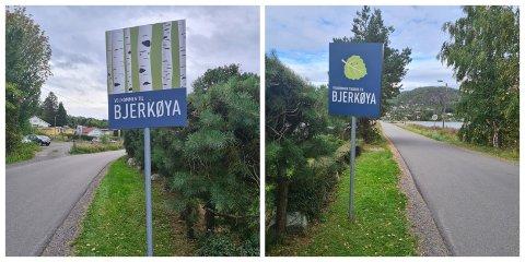 VELKOMMEN: Nå ønskes du både velkommen inn og tilbake når du kommer til Bjerkøya.