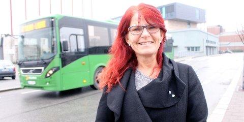 VIL ÅPNE: Her i Havnegata ønsker flertallet av Hana bydelsutvalg og leder Ellen Karin Moen (H) å åpne for gjennomkjøring i rushtiden.