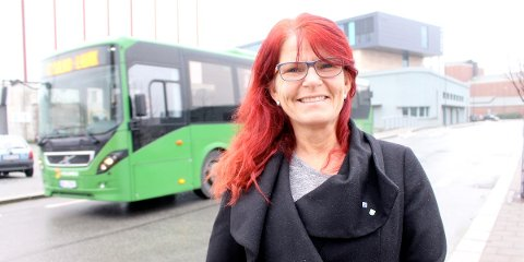 ETT STEG NÆRMERE: Ellen Karin Moen (H), leder av Hana bydelsutvalg, er ett steg nærmere en åpning av Havnegata for gjennomkjøring i rush-tiden. Forrige uke vedtok Hana bydelsutvalg med knapt flertall at de går inn for gjennomkjøring i rushtiden i påvente av Gandsfjord bro.