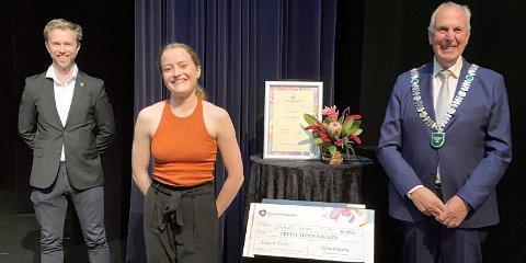 Sunniva Opdaler nylig utdannet dansekunstner og-pedagog ved Norges Dansehøyskole.