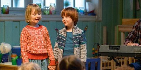 Barnevennlig: «Karsten og Petra lager teater» starter Den store kinodagen lørdag 4. november.
