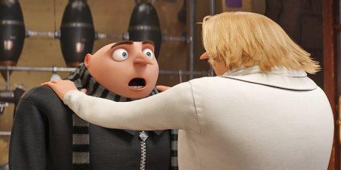 Populær: «Grusomme meg 3» var den nest mest sette filmen på Sarpsborg kino i 2017.