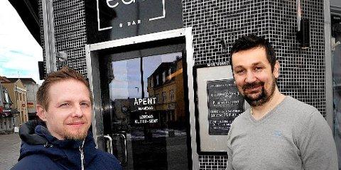 Conny Östling og Admir Suljemanovic holder Edo åpent fram til 22. desember, men da er det slutt.