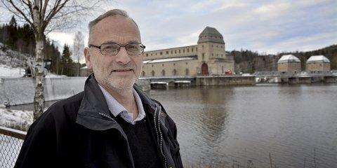 42. år: Fartstiden til Øystein Rafoss nærmer seg 42        år når han avslutter for godt som kraftverksjef i Solbergfoss til sommeren.