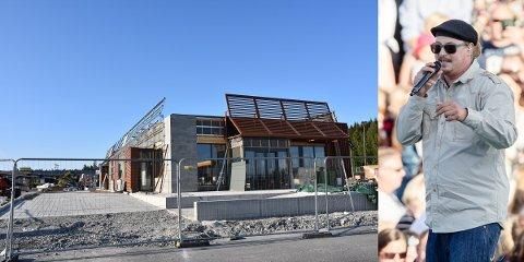 ÅPNING: Bygget er ikke helt ferdig ennå, men den 15. august er det duket for åpning av nye McDonalds Morenen på Slitu. På åpningsdagen kommer Admiral P og holder gratiskonsert.