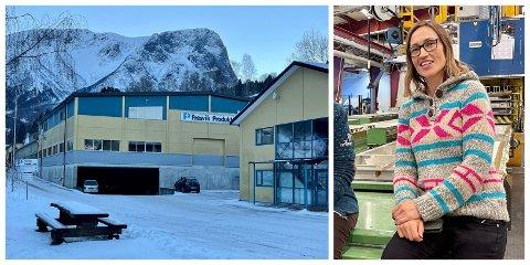 SKRED: Fresvik Produkt ha stengt for påska, men produksjonsleiaren får forpurra reiseplanane sine av skredet.