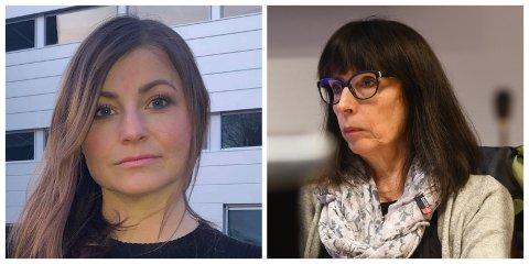 SVÆRT KRITISKE: Formannskapsmedlemmene Henny Kristin Asperanden Navarsete (Ap) og Gunnhild Bøyum (H) stilte seg svært kritiske til prosessen som munna ut i at Arne Johansen vart innstilt som rådmann i Sogndal kommune.